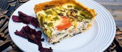 dulse quiche