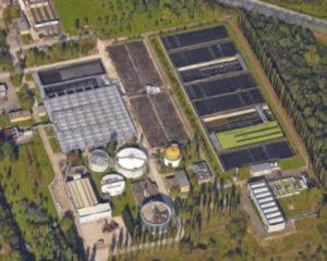 L'impianto di depurazione del Gruppo Cap a Bresso-Niguarda (Milano)