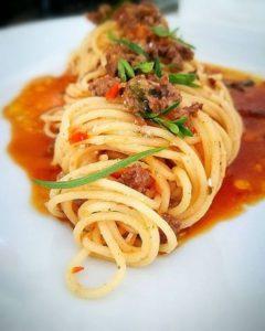 Spaghetti della Chef Gloria Enrico