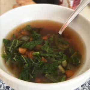 Disintossicarsi con le alghe - La zuppa di miso